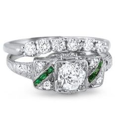 Antique Engagement Rings and Vintage Rings