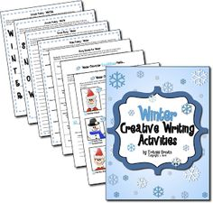 Creative Writing Activities for Winter - Classroom Freebies Kindergarten Writing, Teaching Writing, Teaching Resources, Teaching Ideas, School Holidays, School Fun, School Stuff, School Ideas, Winter Holidays