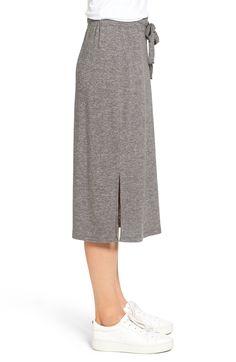 Main Image - Caslon® Jersey Midi Skirt