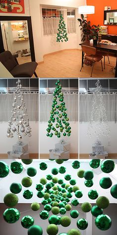 Perfect Christmas tree idea for you...with vintage ornaments or all the doilies you used to hang in the window