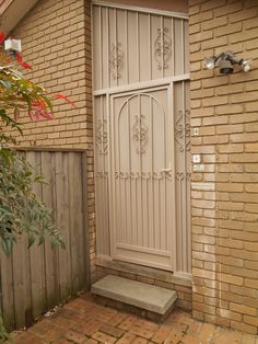 Best security doors you'll find in Melbourne. Specialised design of window grilles, security door mesh and handles. Contact them for your installation needs and be safe. Security Doors, Melbourne, Garage Doors, Windows, Outdoor Decor, House, Color, Design, Home Decor