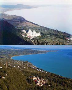Новый Афон. Вид с Иверской горы. 1904/2012