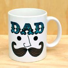 Dad's Mustache Mug – Hi Sweetheart