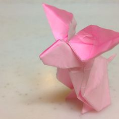 #origami Rabbit  - I would love to learn origami