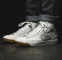 Nike SB Blazer PRM Vintage: White