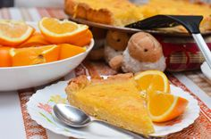 "Tarte à l'orange ""express"""