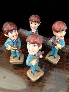 Vintage 1964 Beatles Bobblehead Cake by ImagineGreatVintage, $79.99