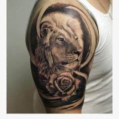 """Samuel Limberti on Instagram: """"Lion I did last week! To book an appointment email me at samuel.limberti@gmail.com  #tattoo #samlimbertitattoos  #inksav  #tattoomagazine…"""""""