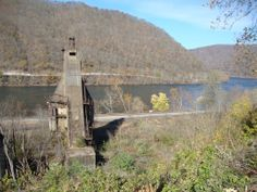 Coaling tower and the New River