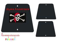 Gateau - voiles Les gâteaux d'anniversaire, version pirate **** - La Vie pas à pas