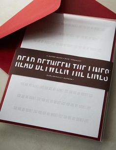 Read Between the Lines - Subliminally Superb Valentine's Day Greeting Cards