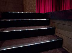 home theater step lighting. beautiful ideas. Home Design Ideas
