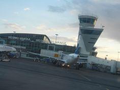 Helsinki-Vantaan lentokenttä Seutula, lentokenttä Vantaalla