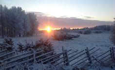 Winter in Kittilä. Finland