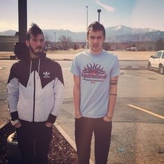 Josh and Tyler.  Twenty one pilots