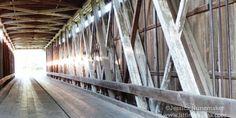 Indiana Bridges: Cumberland Covered Bridge in Matthews, Indiana