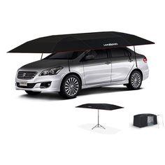 Car Umbrella Tent Waterproof Anti UV Car Sun Shade Canopy Cover