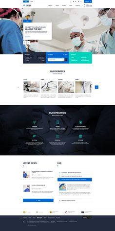 Clean, informative and mobile friendly. #creativewebsitedesign  www.sumodigital.co Corporate Website Design, Design Your Own Website, Beautiful Website Design, Business Logo Design, Webdesign Inspiration, Website Design Inspiration, Web Layout, Layout Design, Medical Websites
