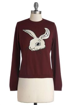 Isn't It Bunny Sweater $63 mod cloth
