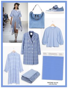 Pantone Trendfarben 2018 Little Boy Blue