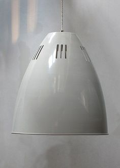 The industrial-style Large Cavendish Pendant Light in Chalk is timeless yet trendy. It is sturdy and stylish with slotted shade and adjustable cable. Large Pendant Lighting, Glass Pendant Light, Lantern Pendant, Pendant Lights, Wooden Chandelier, Beaded Chandelier, Ceiling Rose, Ceiling Lights, Art Deco Lighting