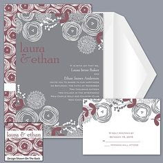 Bright Blooms - Rosewood - Invitation might be the ones!!