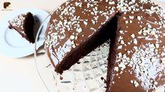 Schokoladen-Cranberry Kuchen! Saftig und so schokoladig!