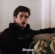 Drama Chris GIF - Drama Chris Skam - Discover & Share GIFs