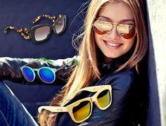 Modne okulary przeciwsłoneczne, trendy 2015,
