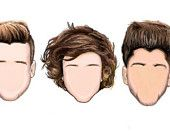 one direction stickers on Etsy, a global handmade and vintage marketplace.