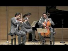 Eggner Trio - Schubert Nocturne - Schubertiade Schwarzenberg.  I used to play this with string friends. Was wonderful!