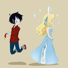Fionna the Human and Marshall Lee Abadeer the Vampire King | Adventure Time with Fionna and Cake