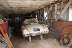1954 Chevrolet Corvete Rare Find. Preserved on blocks in the barn since 1973