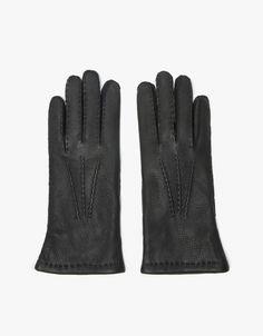 Hestra Deerskin Classic Wool Black