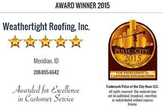 caldwell - nampa - boise - treasure valley roofing contractor installation