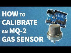 How to calibrate an MQ-2 gas sensor - YouTube