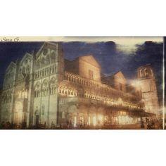 La nostra suggestiva Cattedrale... piena di luci e storia... resa eterna come in un dipinto reale... #MyFerrara #comunediFerrara #igersferrara #Ferrara