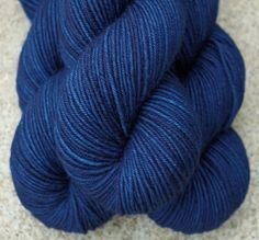 I want socks out of this to wear with my jeans! Hand dyed Yarn Wooltherapy.