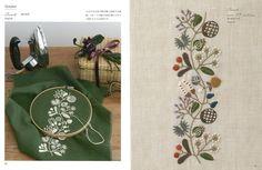 12 Months Embroidery by Yumiko Higuchi Japanese Craft Book SP3 | eBay