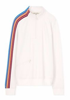 Tory Sport Prism Stripe Pullover