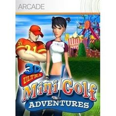 Buy 3D Ultra Minigolf Adventures - own the most imaginative collection of wacky miniature golf courses. Get ready to tee off for a quick and fun match! Putt your way through 36 crazy holes of minigolf mania! Or create your own custom hole design and challenge a friend. Buy the full game now to practice your power swing! There are no refunds for this item. For more information, see www.xbox.com/....    #DanCamacho.com #Design