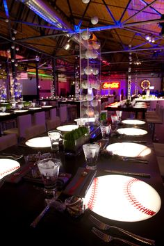 Check out Major League Baseball Themed Bar Mitzvah from Event Creative