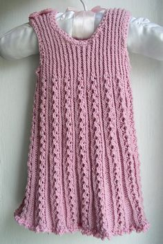 Free Pattern: Tiny Ribbon Baby Dress by Astrid Colding Sivertsen