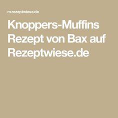 Knoppers-Muffins Rezept von Bax auf Rezeptwiese.de