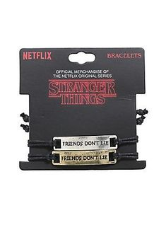 Las quiero!! Stranger Things Jewelry, Stranger Things Merchandise, Stranger Things Funny, Stranger Things Netflix, Stranger Things Items, Starnger Things, Things To Buy, Anel Harry Potter, Best Friend Gifts