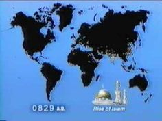 World Population (video) This short video (about 7 min) graphically represents world population growth from 1 A.D. to (projected) 2030, using dots on a map of the world. It may be a little boring for some students, (so you can always speed up the slower parts), but especially when you get to the 16th century and beyond, it's eye-opening.