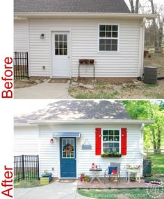 Potting Shed Makeover Reveal! Unbelievable before and after!