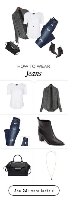 """""""Batwing Cardi"""" by jaycee0220 on Polyvore featuring Kate Spade, Acne Studios, Topshop and H&M"""