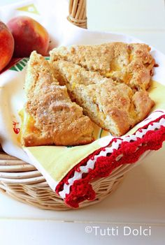 What could be better for breakfast than these delicious Browned Butter Peach Scones, loaded with fresh peaches! Youll love this breakfast treat courtesy of Laura form Tutti Dolci - All Sweet for Guest Post Friday!