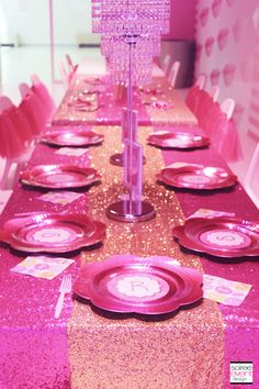 Barbie Dreamhouse Party by Soiree-EventDesign.com